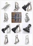 Soporte de Conductor de aleación de aluminio accesorios para cables de fibra óptica