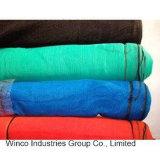 Adicione o tecido de malha de poliéster com revestimento UV lona de PVC Tarps Construção de folhas de polietileno