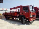 Camion di Dongfeng 6.3ton 4X2 della fabbrica con la gru