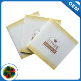 Papel artístico Softcover agrafar a impressão de folheto
