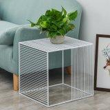 Accueil Furniturehollow métallique carrée Table de style simple