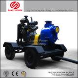 De Diesel van 6 Duim Pomp van uitstekende kwaliteit van het Water met Dieselmotor en Aanhangwagen