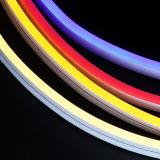 SMD 2835 LEIDEN van het Silicium van gelijkstroom 12V/24V 5*13*50000mm Mini Eetbare Neon