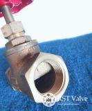 Rosca fêmea de Bronze latão válvula globo com Haste Non-Rising