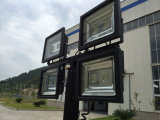 Torre de Luz LED portátil con 5kw en silencio Generador Diesel