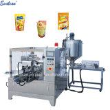Beurre de cacahuète Doypack automatique de petites machines de conditionnement