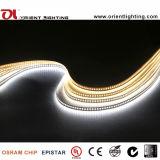 Resistente al agua IP66 2835 Epistar 3000k 19W/M de Cinta de LED flexible