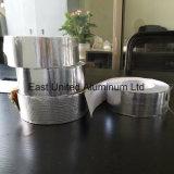 Cintas autoadhesivas de papel de aluminio blanco con liberación de papel