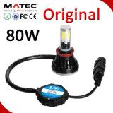 防水IP68車の自動ヘッドライトヘッドライトLED 880/881 H4 H7 H11