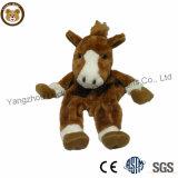 Huiden van het Paard van het Stuk speelgoed van de Pluche van de Fabriek van de Uitvoer van China Unstuffed