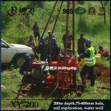 Plataforma de perforación inferior Xy-200 de la base de pozo de agua del precio