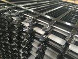 A potência preta do PVC revestiu soldou o cerco da guarnição da segurança dos painéis de 2400mm x de 2400mm Preminum