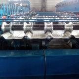 Tuile de toit en acier de panneau en métal de fer formant la machine