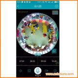 HauptÜberwachungskameras WiFi drahtloses Netzwerk mit einer panoramischen 360 Grad-Ansicht, unterstützen intelligentes Telefon APP-Fernbetrachtung