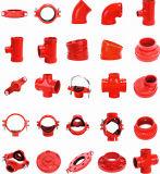 La protezione Grooved FM/UL dell'accessorio per tubi del ferro nodulare ha approvato
