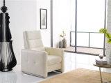 余暇のイタリアの革ソファーの家具(770)