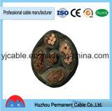 De PVC de la chaqueta 5 de cable de cobre de la base 150 milímetro Sq aislado PVC