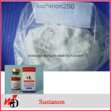 ボディービルのためのステロイドの原料のSustanon注射可能な250の粉