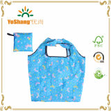 ナイロンFoldable再使用可能なショッピング・バッグ、ポリエステルパターン折る袋、印刷された折る袋