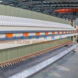 Nueva prensa 2017 de filtro de membrana de China para las aguas residuales de Municiple 1500 series