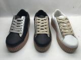 Form-beiläufige Segeltuch-Schuhe für Frauen-Männer (6085)