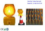 Lâmpada de obstáculo de Energia Solar / Luz de construção para o Cone de tráfego