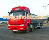 FAWはトラックに燃料を補給する