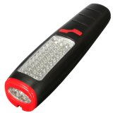 18LED 3.7V1800mA 재충전용 아BS 물자 LED는 램프를 검열한다