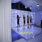 Freies Verschiffen 12*12FT LED Starlit Dance Floor für Hochzeit, DJ-Dekoration LED-Bildschirmanzeige