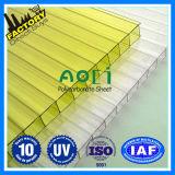CE ISO 9001: 2008 Aprobado Hoja de policarbonato Lexan Hollow