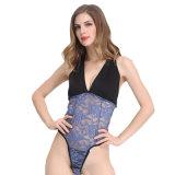 Jeune fille moderne ouvert sous-vêtements Sexy Hot lingerie sexy nuisette Sexy Hot dentelle Lingerie transparente