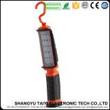 ハンドルの携帯用オレンジ高い発電LEDのトーチライト