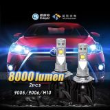 Super brillante 8000LM motocicleta Faro de luces delanteras LED