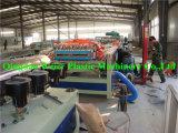 La madera de la puerta de plástico de PVC Línea de producción (SJSZ-92/188)