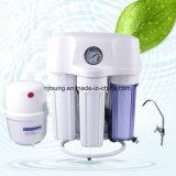 Filtre d'eau d'osmose d'inversion de 5 étapes avec le cas d'épreuve de la poussière