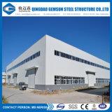 Горячий гальванизированный пакгауз рамки стальной структуры полуфабрикат