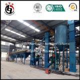 Entrepreneur en usine de production de carbone activé