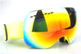 Подгонянные провентилированные конструкцией защитные стекла катания на лыжах объектива PC