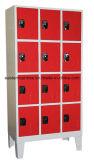 Локер или шкаф хранения конструкции безопасности удобные в супермаркете