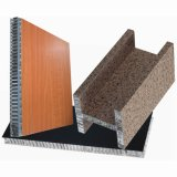 Бутерброд с ячеистой алюминиевой панели для установки на стене оболочка фасады и крыши