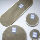 Disco do filtro de tela da extrusora/elementos de filtro com a borda coberta