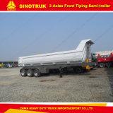 최상을%s 가진 반 중국 공급자 3 차축 트럭 덤프 트레일러