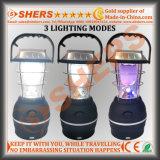 Indicatore luminoso solare del LED con indicatore luminoso d'avvertimento, dinamo a gomito, USB (SH-1992B)