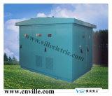 Cerco em forma de caixa do aço inoxidável da subestação