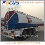 CIMC réservoir de combustible dérivé du pétrole de pétrole/de camion remorque semi avec 45000 litres de dimensions