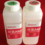 Colle de résine époxy transparente à chaud pour étiquettes