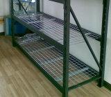 Decking galvanizado do engranzamento de fio para o racking do armazenamento do armazém