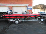 Aqualand 19feet 5.8m 10persons 엄밀한 팽창식 모터 배 또는 섬유유리 늑골 배 또는 어선 (rib580t)