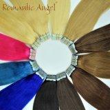 Самая лучшая лента в выдвижении человеческих волос Remy человеческих волос девственницы прямом