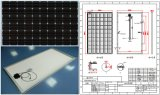 30V 36V 245W 250W 255W 260W Monocrystalline Solar Panel PV Module con l'iso Approved di TUV